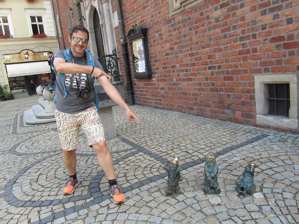Buscando gnomos en Breslavia