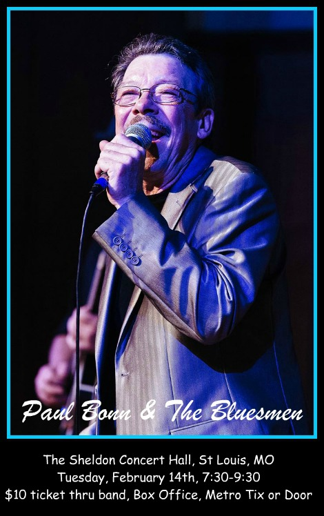 Paul Bonn & The Bluesmen 2-14-17
