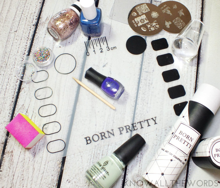 born pretty store nail art diy stampting mat (2)