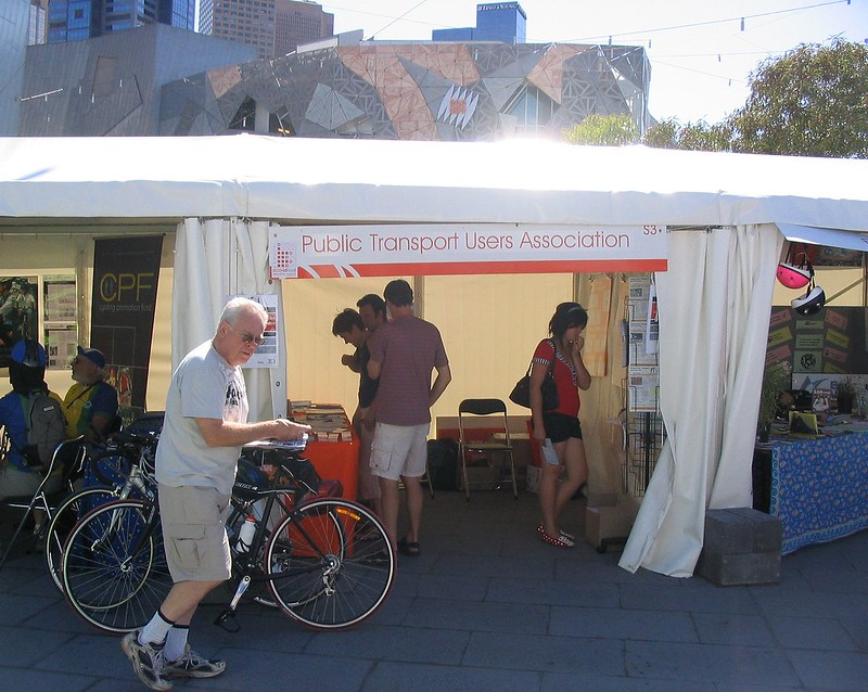 PTUA stand at Sustainable Living Festival, February 2007