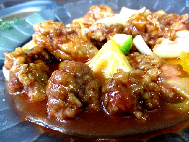 Siong Lok Yong sweet and sour pork ribs