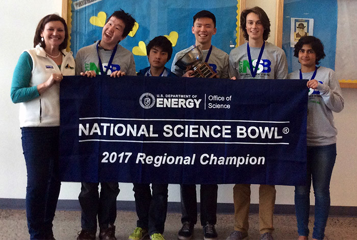 2017 Science Bowl Winners