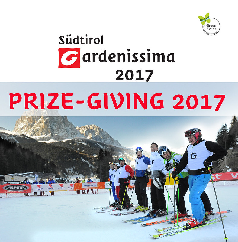 PRIZE-GIVING Südtirol Gardenissima 2017