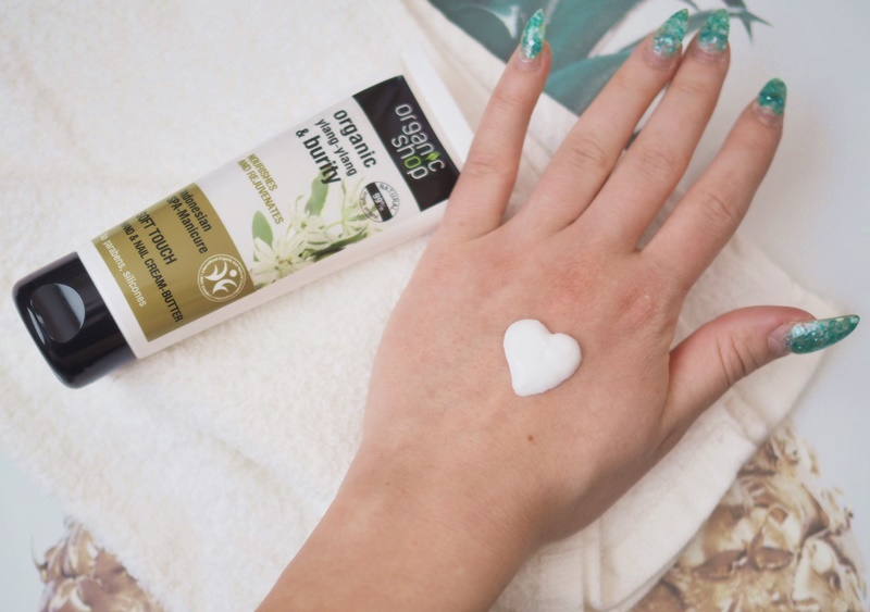 organic shop käsivoide hand and nail cream