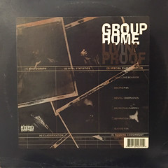 GROUP HOME:LIVIN' PROOF(JACKET A)