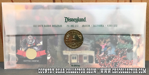 1999 Disneyland Collector Series II Critter Country Trading Card - Country Bear Collector Show #090