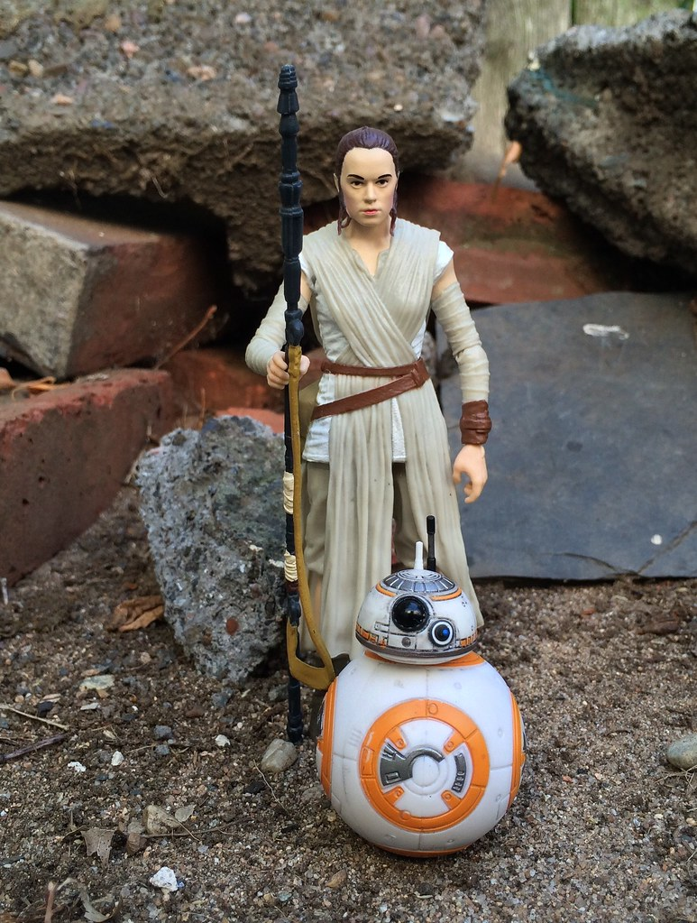 Rey And Bb8 Star Wars Black Series 6-8417