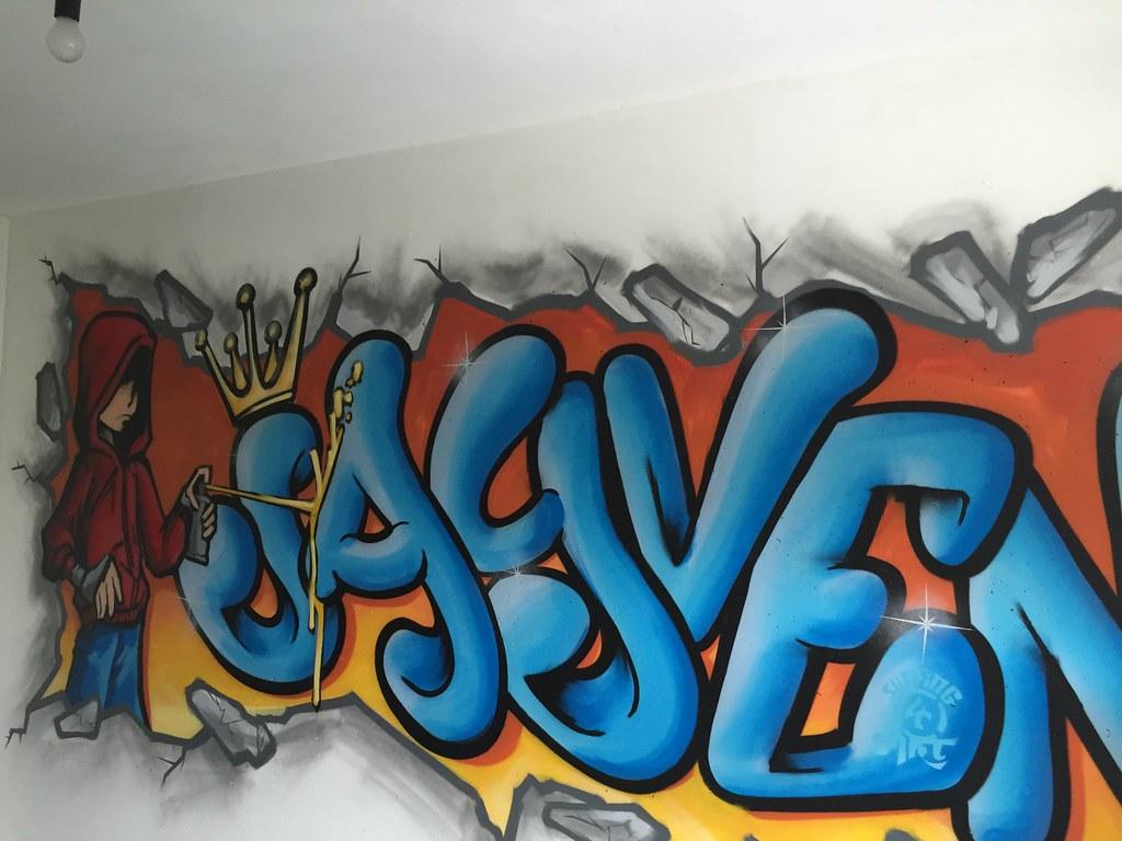 Graffiti kinderkamer Jayven 3   Graffiti kinderkamer jayden   Flickr