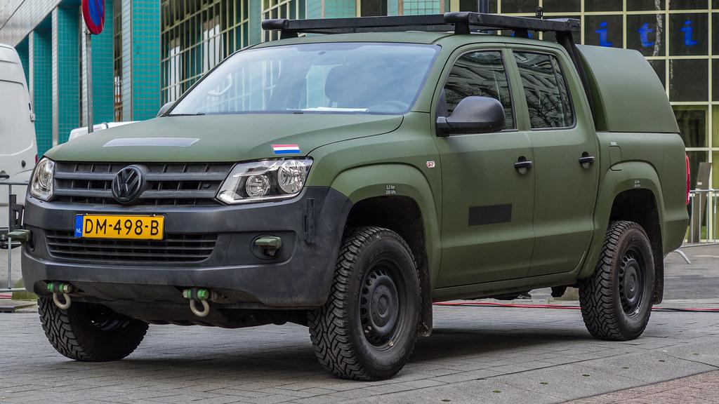 Volkswagen Amarok In Defensie Uitvoering Doelwater Rot Flickr