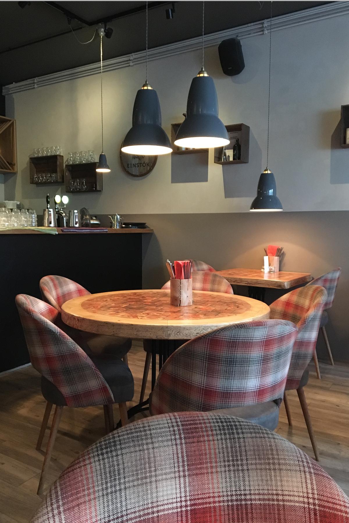 cosy cafe in Reykjavik