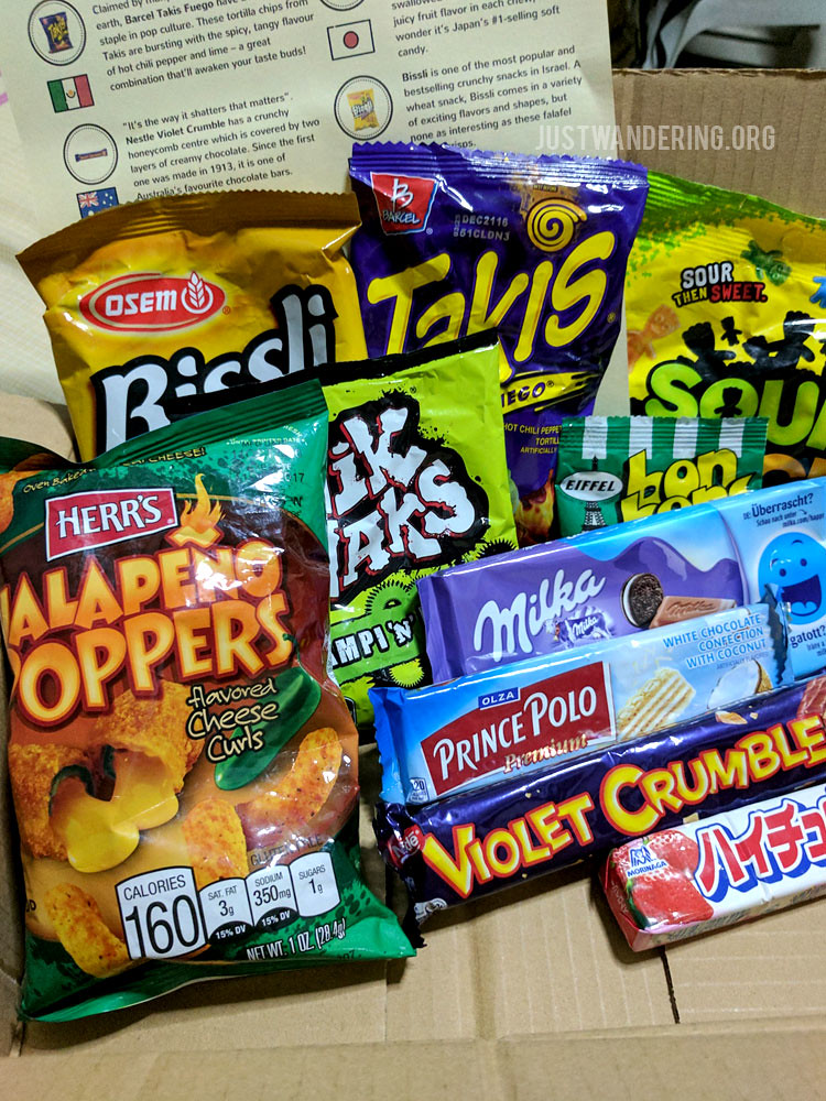 WorldBitesPH Snack Subscription Box