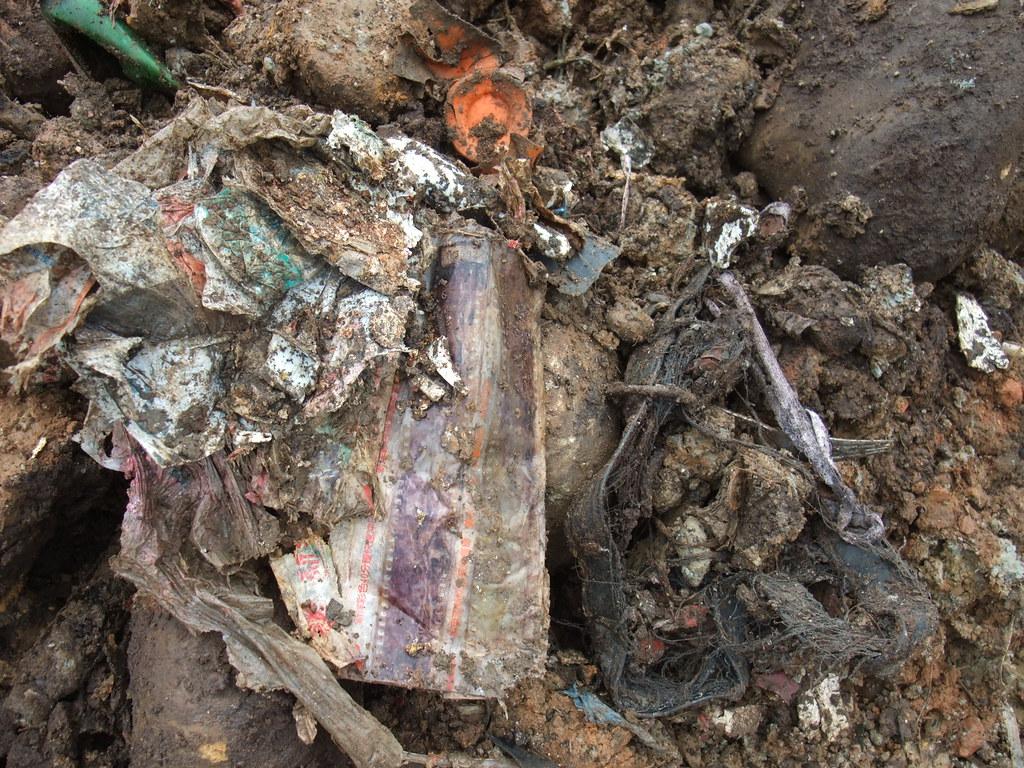 現場廢棄物棄置情形