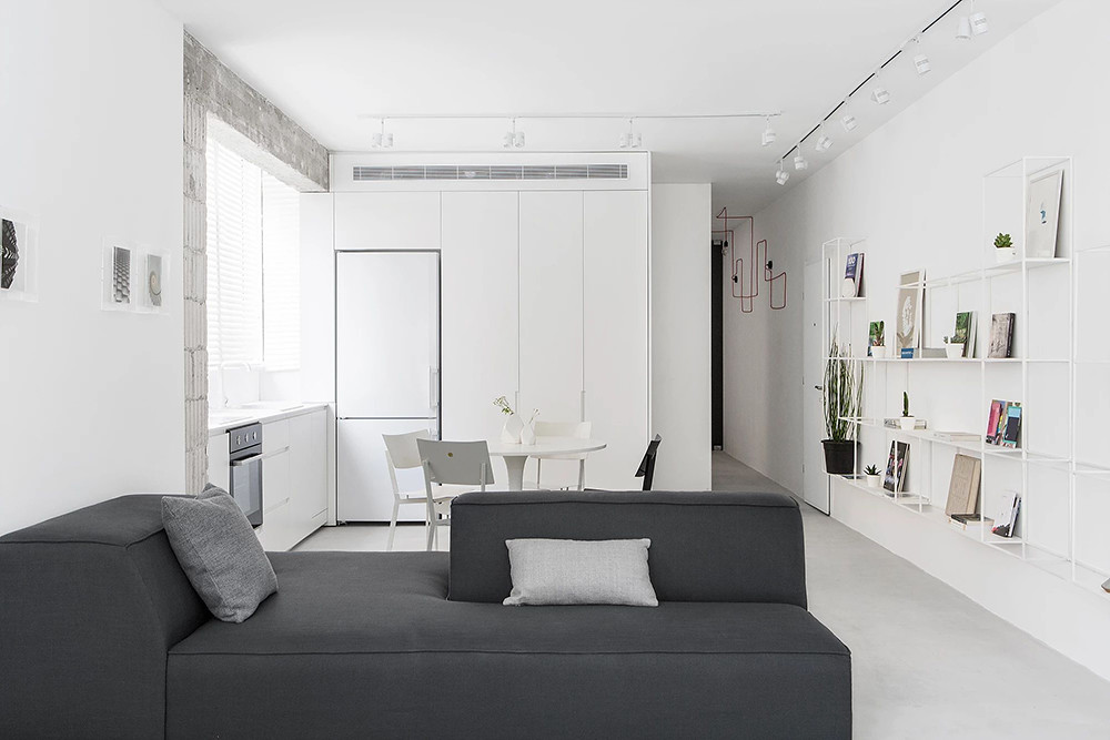 SIG black and white apartment by Yael Perry Sundeno_04