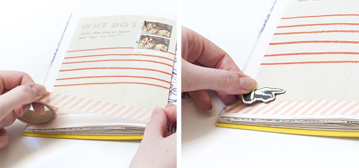 uk blogger art journaling