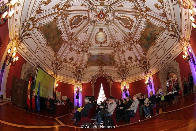 Conferência de imprensa de apresentação do 13.º Terras sem Sombra em Sevilha, no Consulado Geral de Portugal em Sevilha.