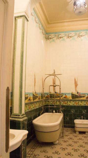 A Smaller private bathroom in Fatima Haider Palace/Royal Jewelry Museum