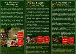 Brochure Earth Eco Tour Chiang Mai Thailand 2