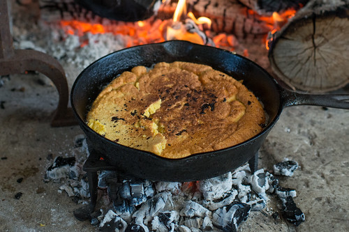 Skillet Corn Bread | by goingslowly