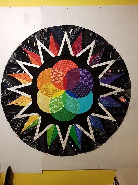 Duct Tape Galaxy Quilt 2017