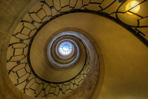 Escalier En Spirale Fr Biblioth Que Nationale De France Flickr
