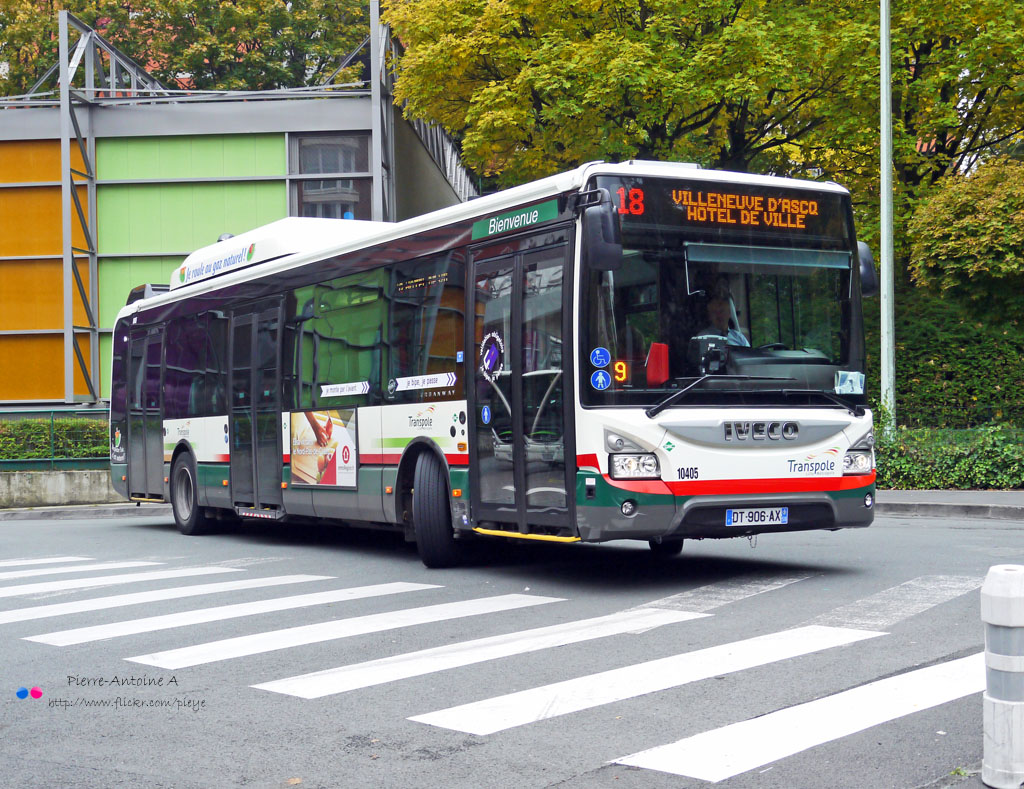 iveco urbanway 12 transpole 10405 bus urbanway 12 gnv flickr. Black Bedroom Furniture Sets. Home Design Ideas