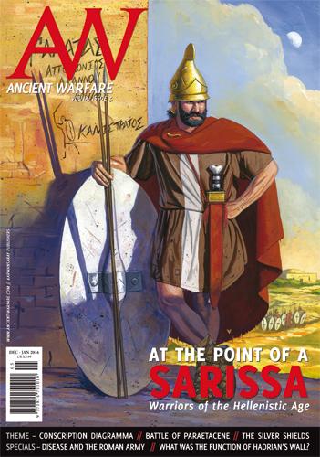 Δημοσίευση στο περιοδικό ANCIENT WARFARE Magazine, Νοέμβριος 2015