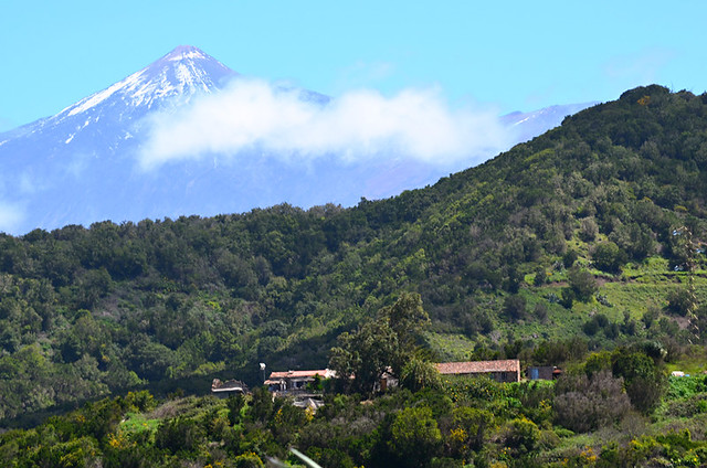 Mount Teide from Teno, Tenerife