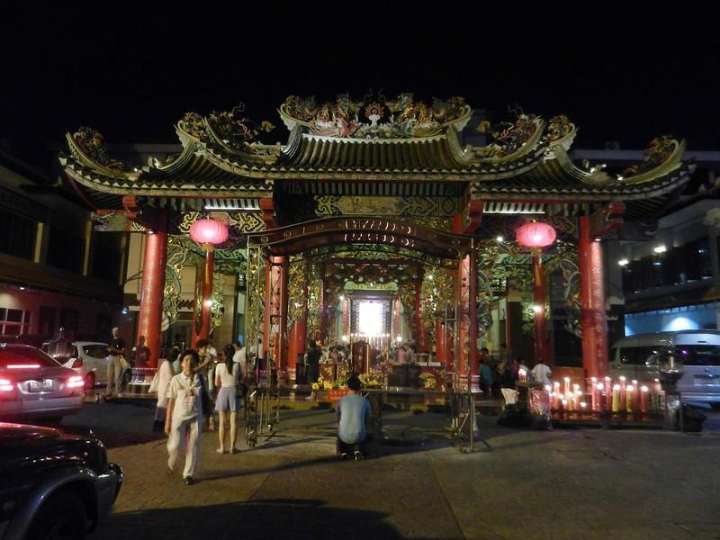 Чайнатаун, храм Бангкок