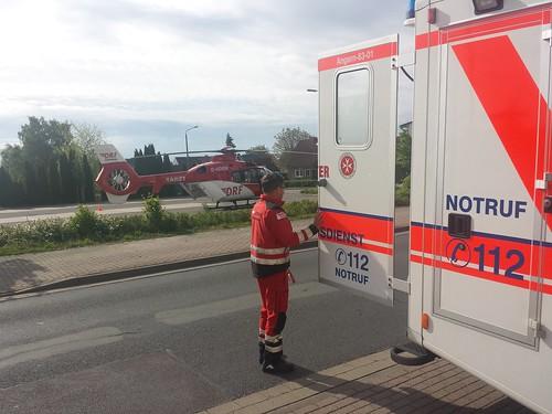 Rettungshubschrauber Christoph 36 bei Herzinfarkt im Einsatz