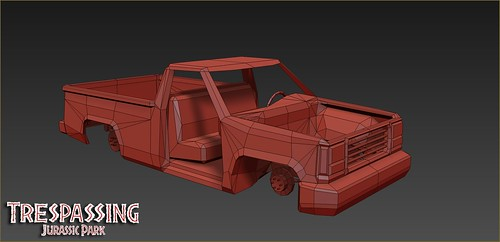InGen Vehicle WIP | by Trespassing - A Trespasser Remake
