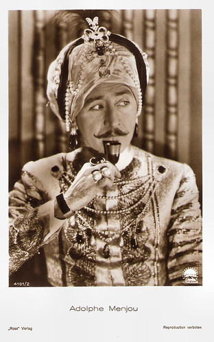 Adolphe Menjou in His Tiger Wife (1928)
