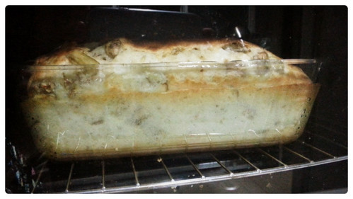 Soufflé de berenjena y queso fresco