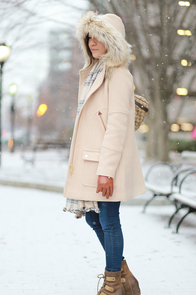 J.Crew Chateau Parka in Dusty Ginger