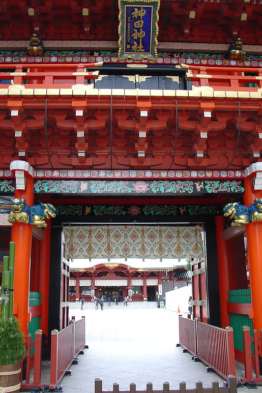 The gate of Kanda Shrine (神田神社)