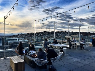 Mbar Rooftop Restaurant - Seattle