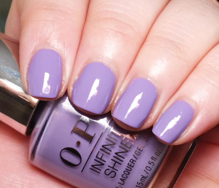 opi infinite shine do you lilac it