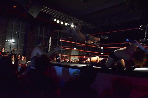 wXw We Love Wrestling Tour in Düsseldorf