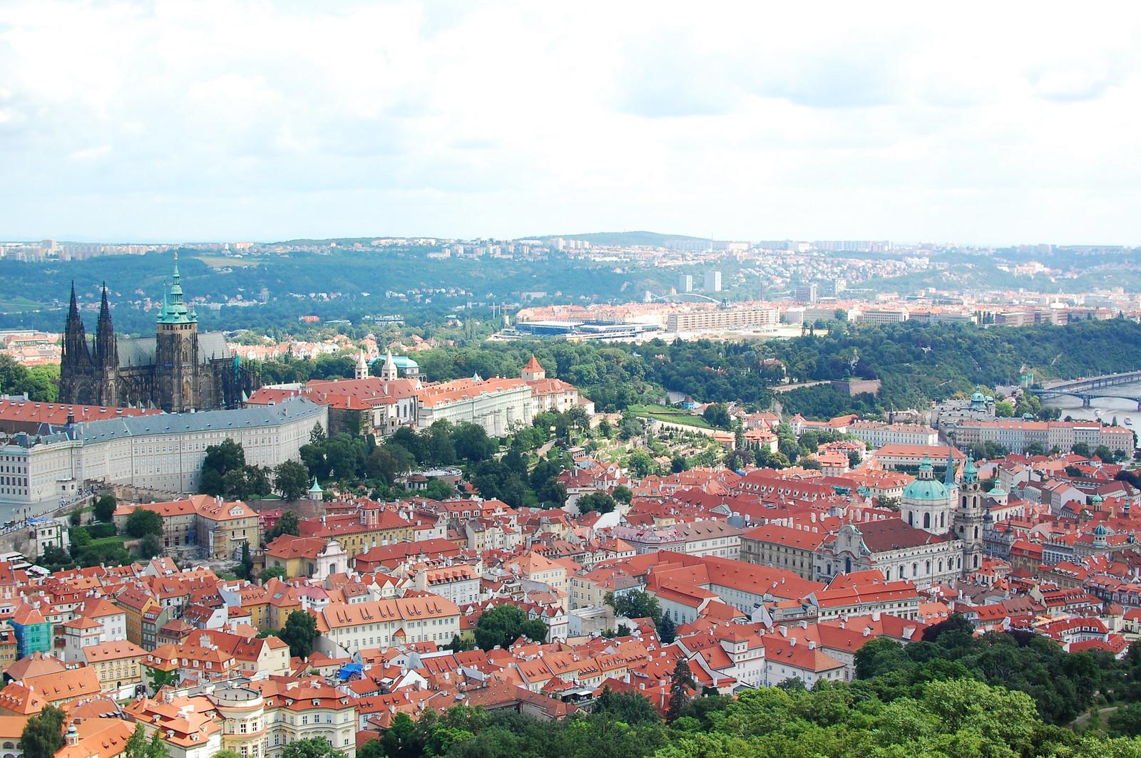 Vysehrad Park Prague travel blogger UK
