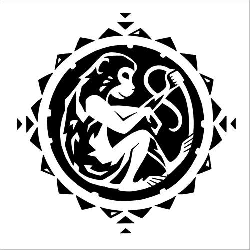 Chinese Zodiac: Monkey / Китайский зодиак: обезьяна