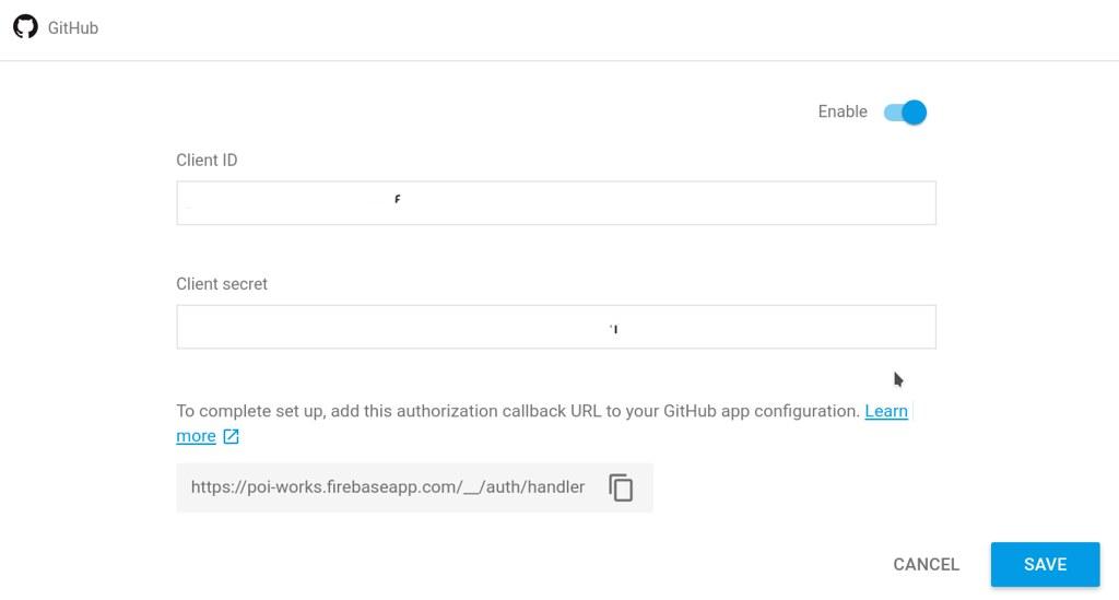 Setup GitHub provider