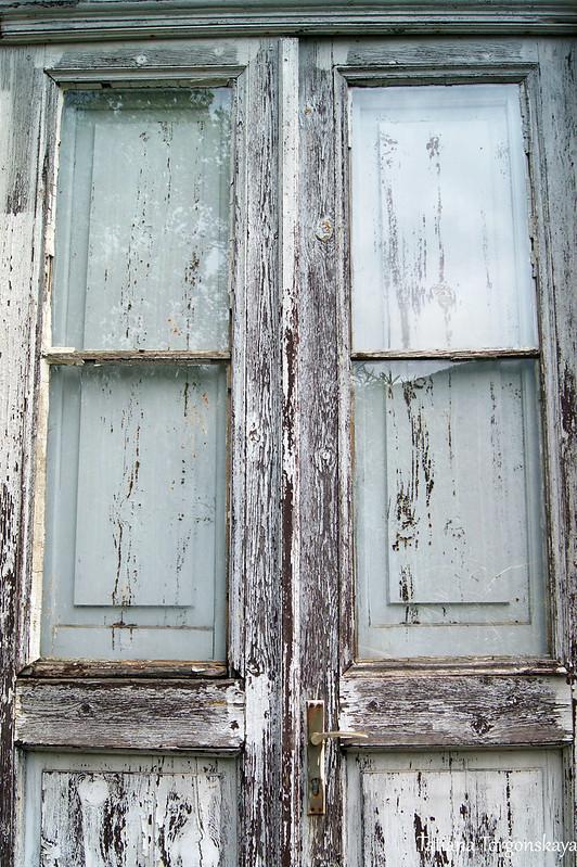 Двери Славянского читального зала