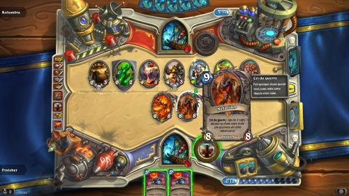 Hearthstone: Heroes de Warcraft tablero