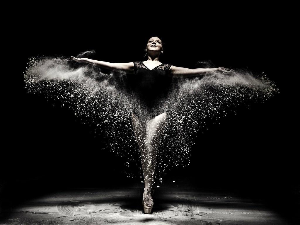Flour dance photography canon60d elinchrom Dlite one Flickr