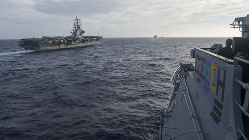 Ronald Reagan Carrier Strike Group Kicks Off Annual Exercise with JMSDF to Increase Readiness