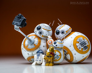 BB-8 : One Last Photo Before We Go! | by Randy Santa-Ana