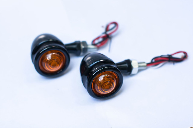 Black LED Indicators