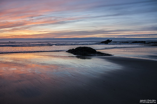 Broadhaven sunset