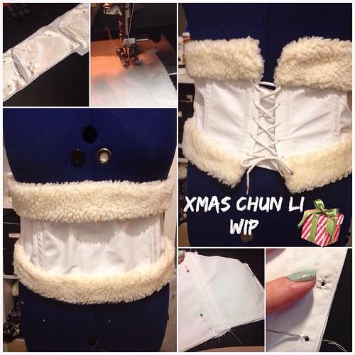 Wip - Christmas Chun Li
