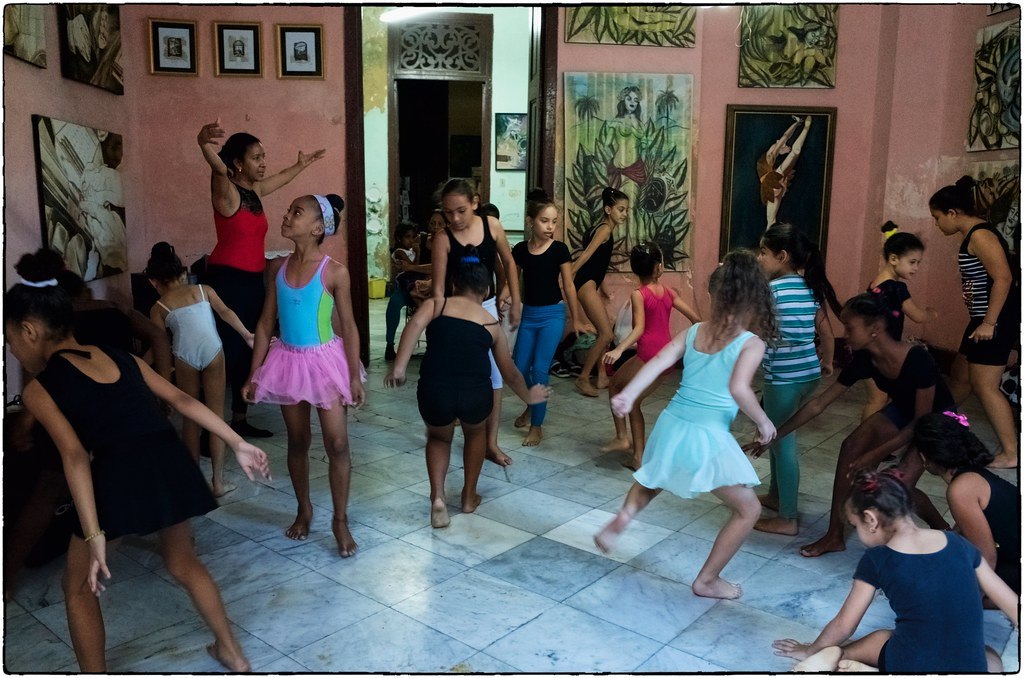 Dance Studio, Havana, February 11, 2017