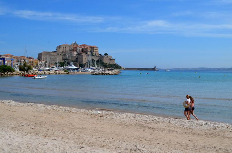 La Plage de la Pinède, Calvi, Corsica